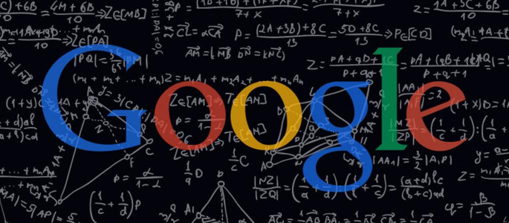 Ilustração do algoritmo do Google.